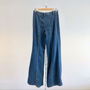 Free People Jeans - Free People Aiden Gilmore Wide Leg Jeans